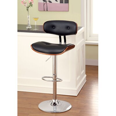 Tyler Adjustable Height Swivel Bar Stool
