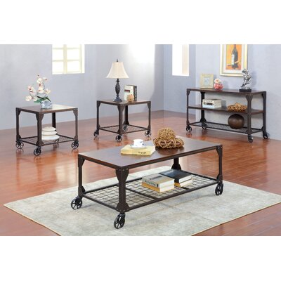Hobart 4 Piece Coffee Table Set
