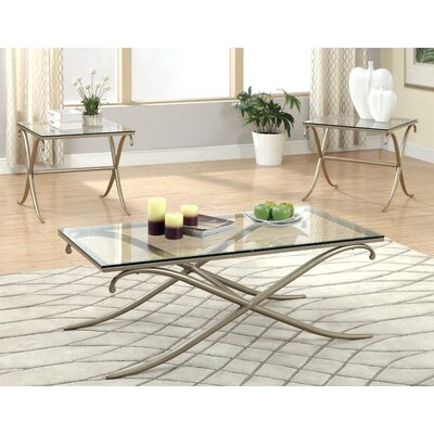 Tatianna 3 Piece Coffee Table Set