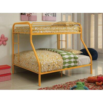 Prism Twin over Full Bunk Bed Color: Orange
