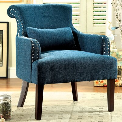 Marlow Armchair Upholstery: Teal
