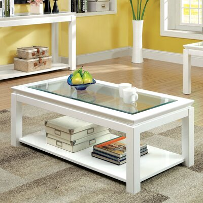 Annalee Coffee Table Color: White