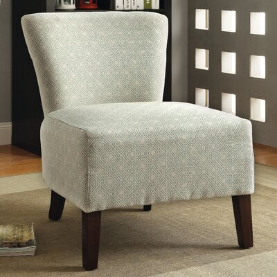 Menara Slipper Chair Upholstery: Ivory