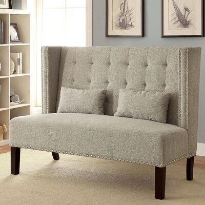Cassel Loveseat Upholstery: Beige