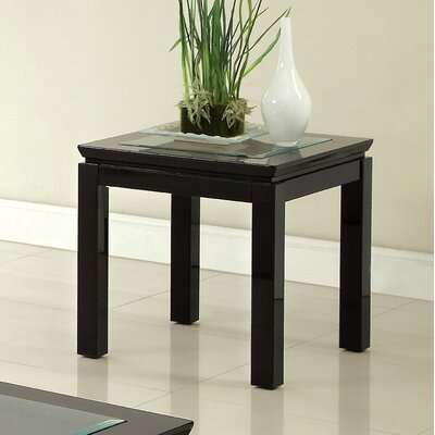 Senna End Table Finish: Black