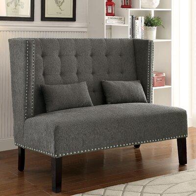 Cassel Loveseat Upholstery: Gray