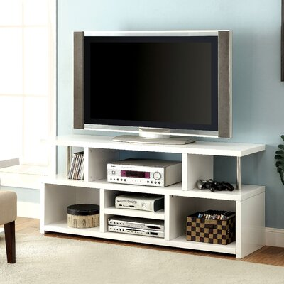 Karl 60 TV Stand Color: White