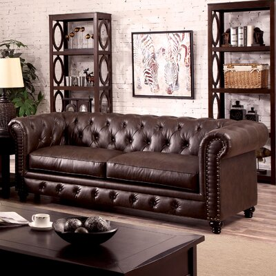 JEG-7370CS-TG KUI6275 Hokku Designs Cedric Tufted Sofa