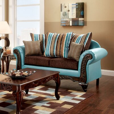 Rovena Transitional Loveseat