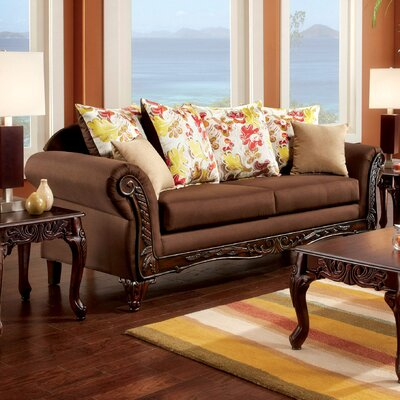 JEG-8731-TG KUI6327 Hokku Designs Florian Transitional Sofa