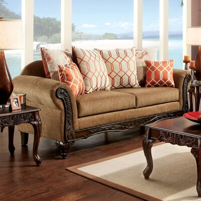 JEG-8736-TG KUI6329 Hokku Designs Pascal Transitional Sofa
