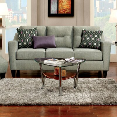 JEG-9321-TG KUI6341 Hokku Designs Violette Modern Sofa