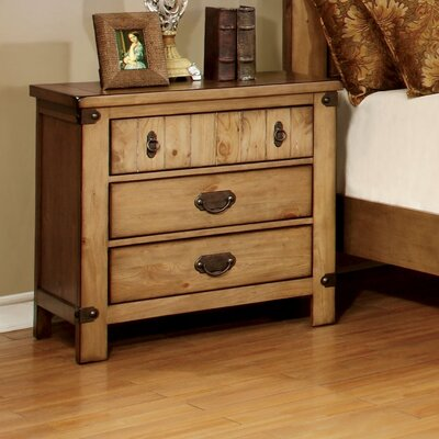Torrino 3 Drawer Bachelors Night Stand