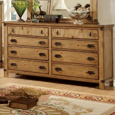 Torrino 8 Drawer Dresser