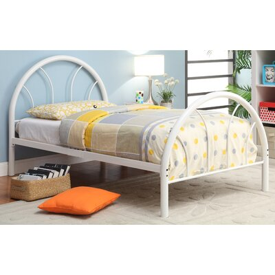 Sonya Panel Bed Size: Twin, Color: White
