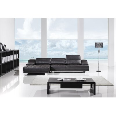 Holmes Sectional Upholstery: Dark Espresso