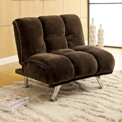 Jopelli Lounge Chair Upholstery: Dark Brown