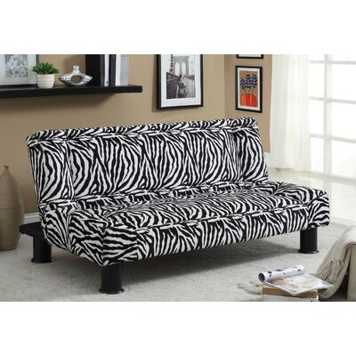 Hokku Designs JEG-3572 Jhalko Zebra Print Convertible Sofa
