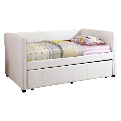 Suzanna Daybed with Trundle Color: White