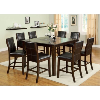 Ravenna Mosaic 7 Piece Counter Height Dining Set