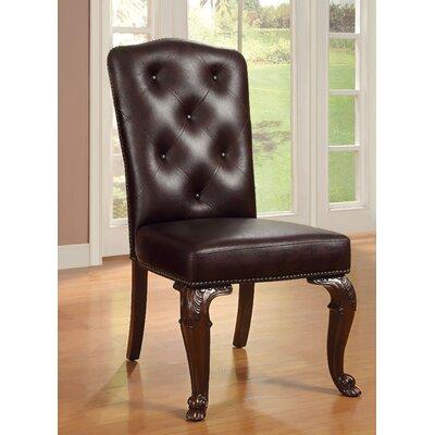 Dark Cherry Dining Chair