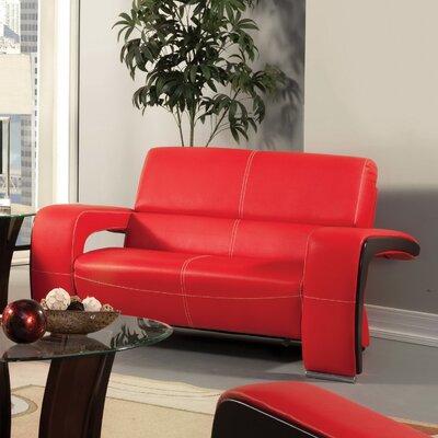 JEG-7123-SFE-M XHX1126 Hokku Designs Nova Leatherette Loveseat