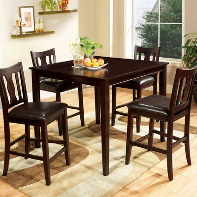 Petite 5 Piece Counter Height Dining Set