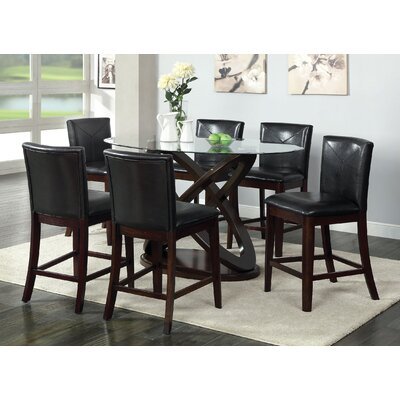 Ollivander 7 Piece Counter Height Dining Set