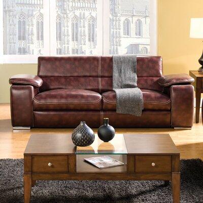 Hokku Designs JEG-7132-CXO-T Esteban Leatherette Sofa