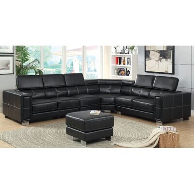 Travillen Sectional with Ottoman