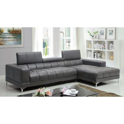 Derrikke Sectional Upholstery: Gray