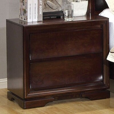 Amber 2 Drawer Nightstand