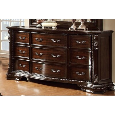 Lexanthur 9 Drawer Dresser