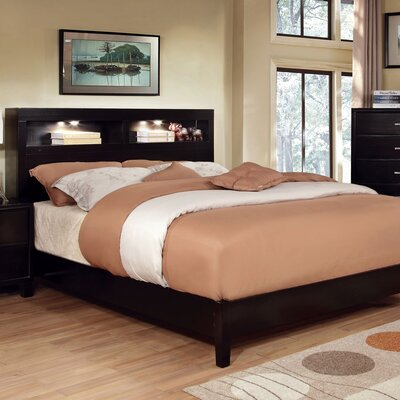 Panel Bed Size: Eastern King, Finish: Espresso
