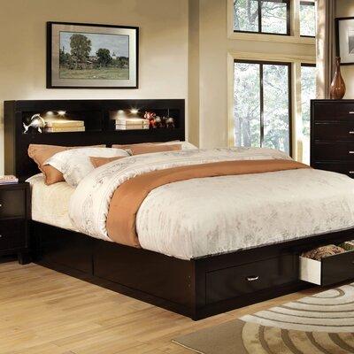 Vivaldo Platform Bed Size: Queen, Finish: Espresso