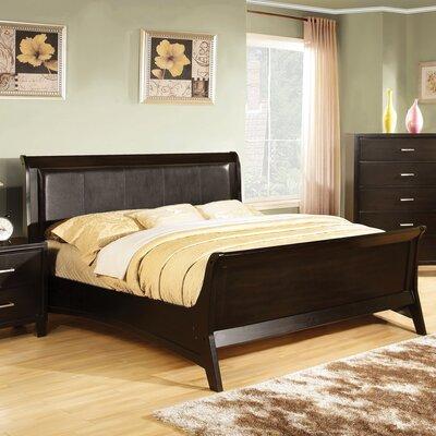 Upholstered Sleigh Bed Size: Full