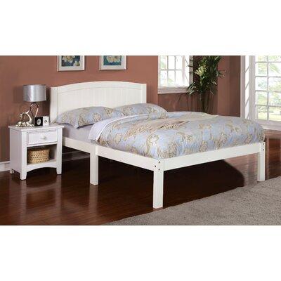 Full/Double Platform Bed Finish: White