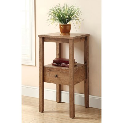 Waldon End Table Finish: Rustic Oak