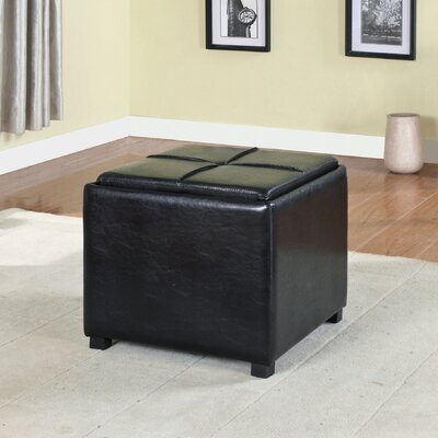Flappers Nesting Ottoman Upholstery: Black