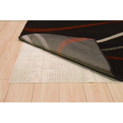 Lalonnie Slip-Free Ventilated Rug Slip Rug Size: 76 x 53
