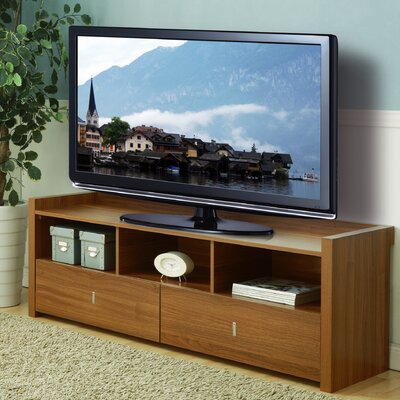 Pettry 20.5 TV Stand Color: Light Walnut