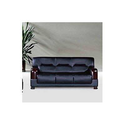NG3210-Tpgb- Cmbdl KUI2048 Hokku Designs Tourmaline Leather Sofa