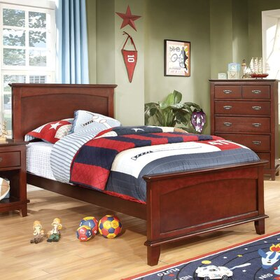Kenneth Platform Bed Size: Twin, Finish: Cherry