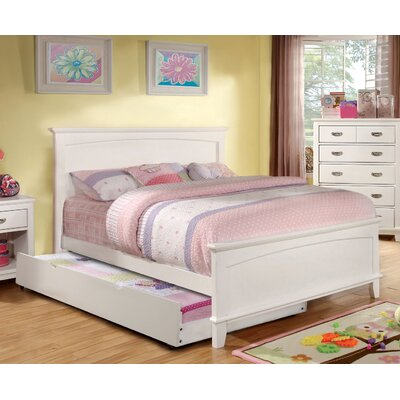 Kenneth Platform Bed Finish: White, Size: Twin