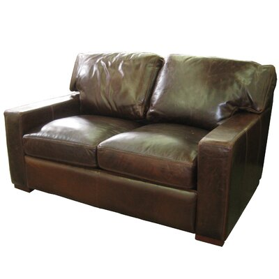 Hokku Designs 66002 Grandeur Leather Loveseat