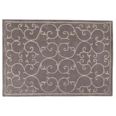 Nepal Grey Area Rug Rug Size: 83 x 116