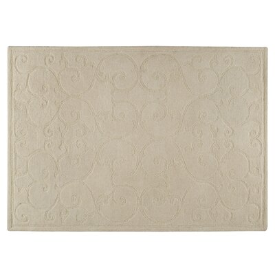 Nepal White Area Rug Rug Size: 56 x 710
