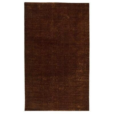 Brown / Gold Area Rug Rug Size: 5 x 8
