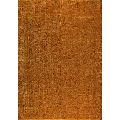 Orange / Brown Area Rug Rug Size: 5 x 8