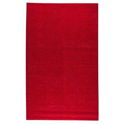Dark Pink Area Rug Rug Size: 8 x 10